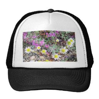 mixed flowers in Ak Trucker Hats