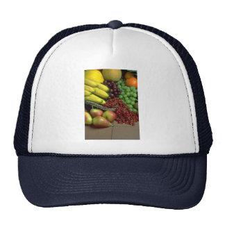 Mixed fruit mesh hats