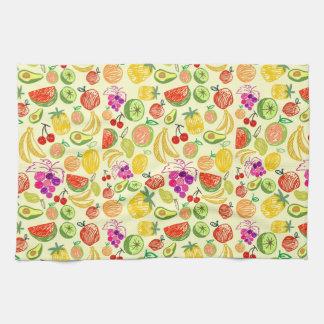 Mixed fruit kitchen towel