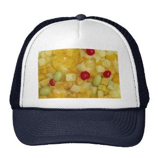 Mixed fruit salad mesh hats