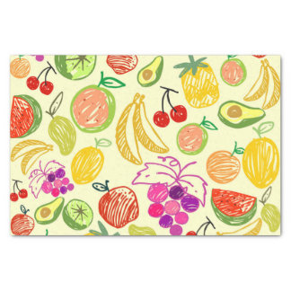 Mixed fruit tissue paper