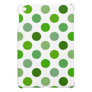 Mixed Greens Polka Dots Cover For The iPad Mini