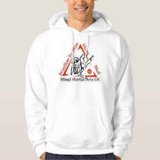 Mixed Martial Arts Hoodie - White