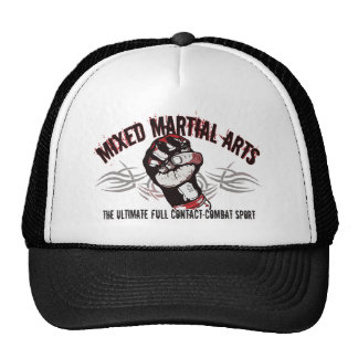 Mixed Martial Arts MMA Cap