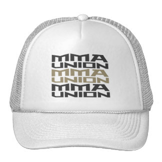 Mixed Martial Arts [MMA] Fighters Union, Black v4 Cap