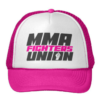 Mixed Martial Arts [MMA] Fighters Union v15, Black Trucker Hat