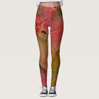 Mixed media 09 by rafi talby leggings