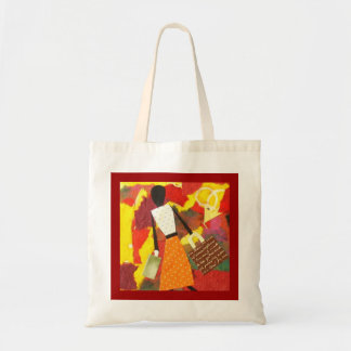 Mixed Media Art Tote