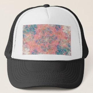 Mixed Media Bird Trucker Hat