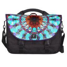 Mixed Media Mandala 1 Laptop Bags