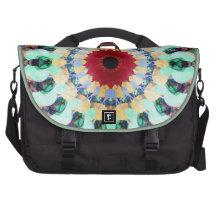 Mixed Media Mandala 2 Laptop Bags