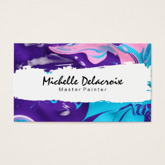 Mixed Paint | Vibrant II Business Card