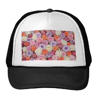 Mixed pastel roses by Therosegarden Hat