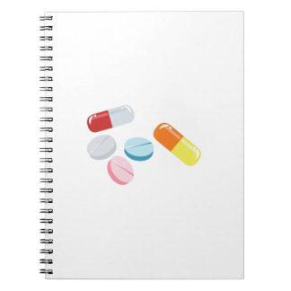 Mixed Pills Spiral Notebook