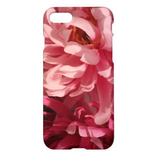 Mixed pink floral iPhone 7 Phone Case