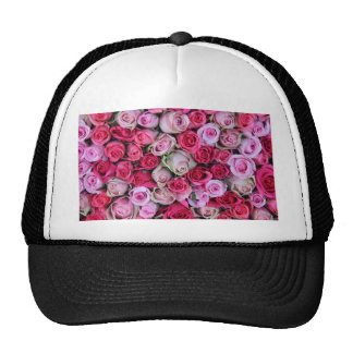 Mixed pink roses by Therosegarden Hats