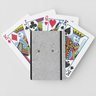 Mixed Plastic Resin Plank Walkway Bicycle Playing Cards