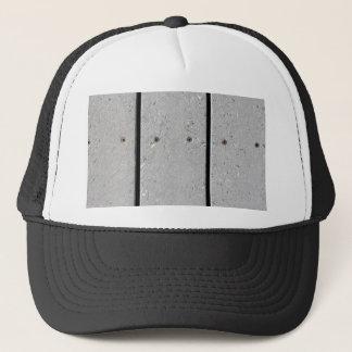 Mixed Plastic Resin Plank Walkway Trucker Hat