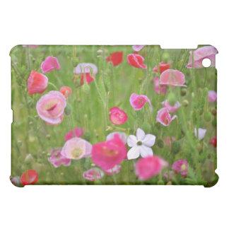 Mixed Poppies flowers iPad Mini Covers