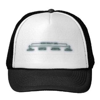 mixed reality trucker hat