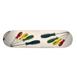 Mixed screwdrivers Photo 19.7 Cm Skateboard Deck
