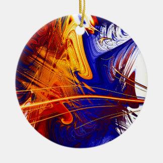 Mixed Up Ceramic Ornament