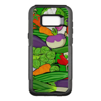 Mixed vegetables OtterBox commuter samsung galaxy s8+ case