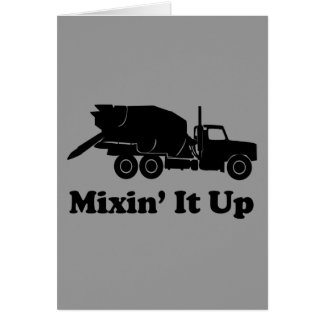 Mixin' It Up Greeting Card
