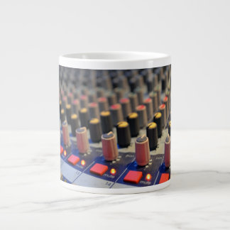 Mixing Board Buttons Large Coffee Mug