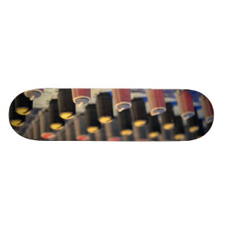 Mixing Board Buttons Skate Board Deck