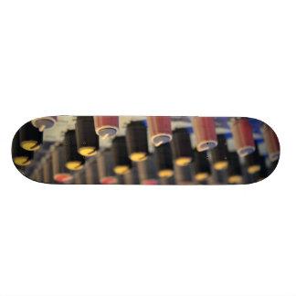 Mixing Board Buttons Custom Skate Board
