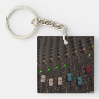 Mixing Board Faders Key Ring