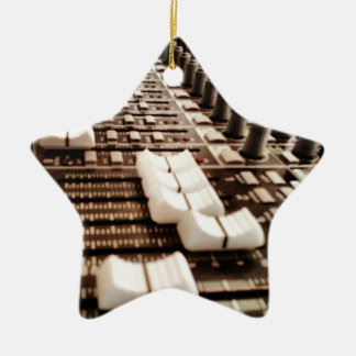 Mixing Board (Photography) Ceramic Ornament