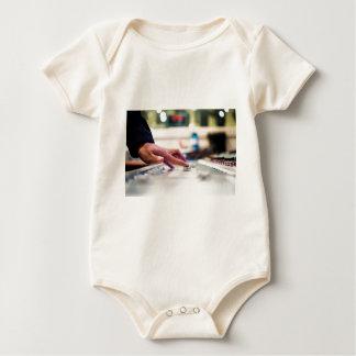 Mixing Desk Mixer Slide Control Slider Disc Jockey Baby Bodysuit
