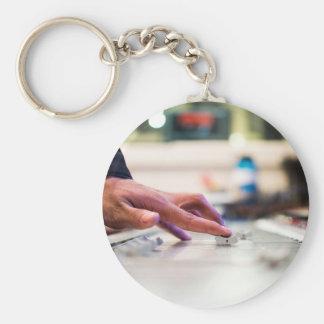 Mixing Desk Mixer Slide Control Slider Disc Jockey Key Ring