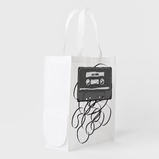 Mixtape Reusable Grocery Bag