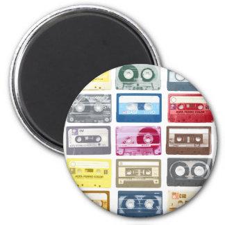Mixtapes Graphic 6 Cm Round Magnet