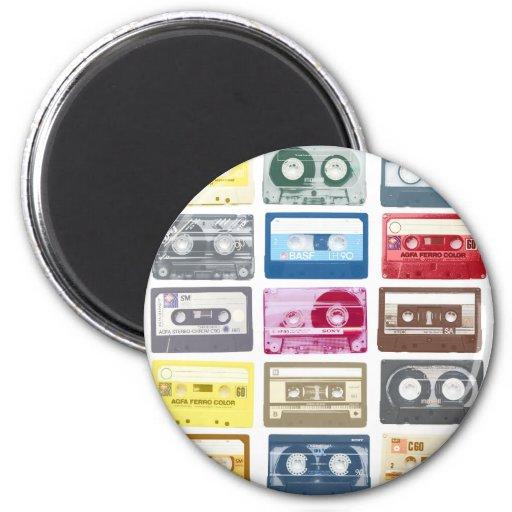 Mixtapes Graphic Magnet
