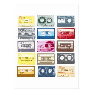 Mixtapes Graphic Post Card