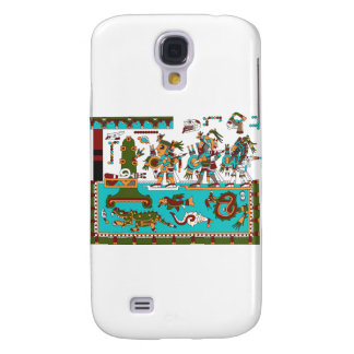 Mixtec Warriors Galaxy S4 Cases