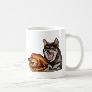 Miya the hangry dog coffee mug
