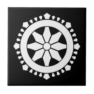 Miyake wheel treasure ceramic tile