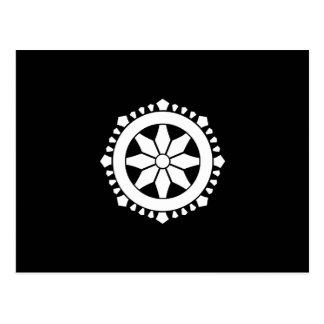 Miyake wheel treasure postcard