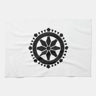 Miyake wheel treasure tea towel