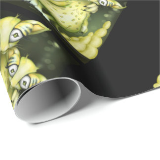 MIZOU MIZA ALIEN CARTOON Wrapping Paper