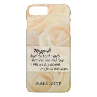 Mizpah | Yellow Rose Personalized iPhone 8 Plus/7 Plus Case
