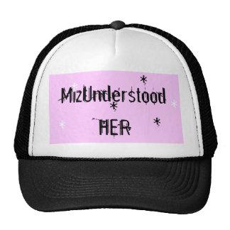 MizUnderstood Her Hat