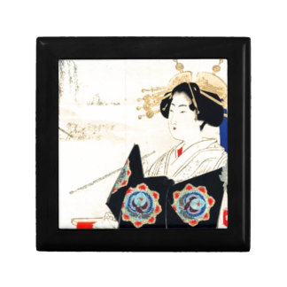 Mizuno Toshikata 水野年方, Courtesan - Asian Art Gift Box