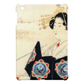 Mizuno Toshikata 水野年方, Courtesan - Asian Art iPad Mini Case