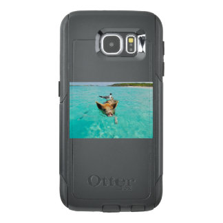 Mizutori and pig Waterfowl and pig OtterBox Samsung Galaxy S6 Case